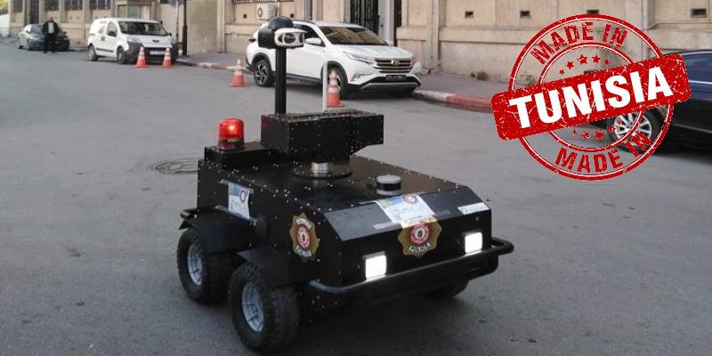 Première sortie pour les robots Pguard du ministère de l'Intérieur