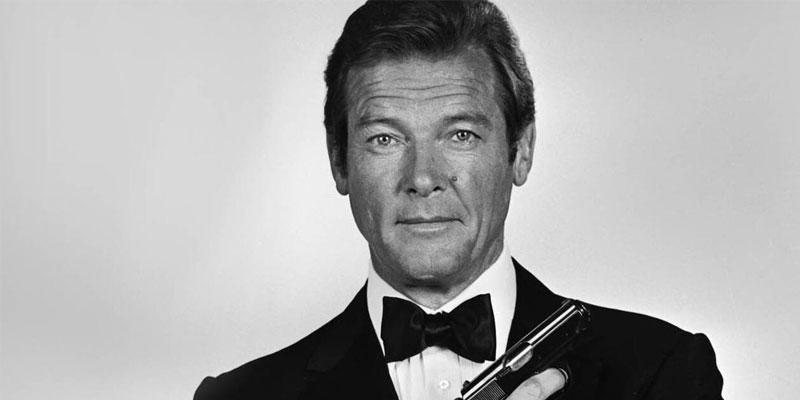 Sir Roger Moore, acteur de James Bond, décède à 89 ans