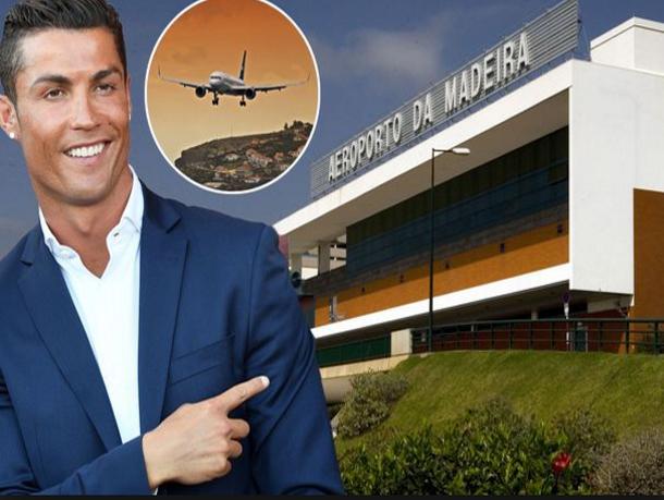 افتتاح مطار اللاعب كريستيانو رونالدو بالبرتغال