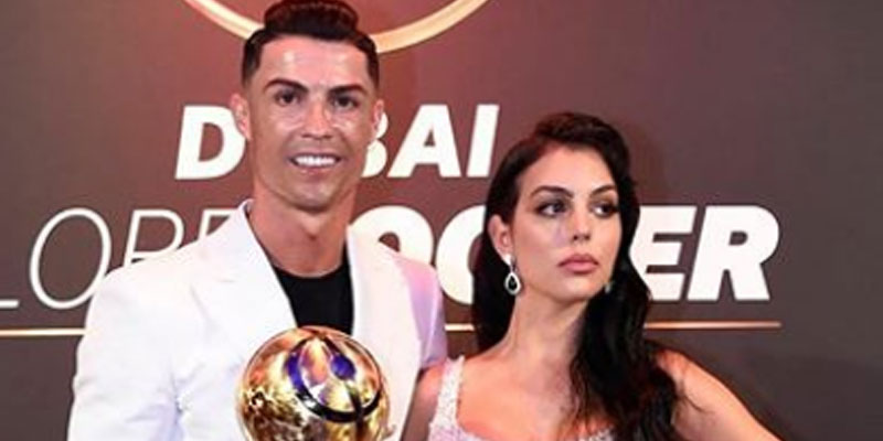Habillée par Ali Karoui, la compagne de Cristiano Ronaldo fait sensation