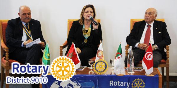 En vidéo : Le Rotary District 9010 organise Tunisie Terre d'accueil