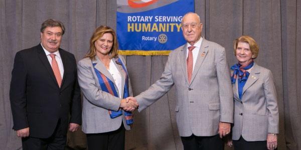 Najoua Azouz prend ses fonctions à la tête du Rotary Clubs Maghreb