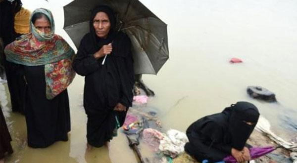 جيش بنغلادش يشارك في عمليات الاغاثة لمساندة المهجرين من الروهينغا