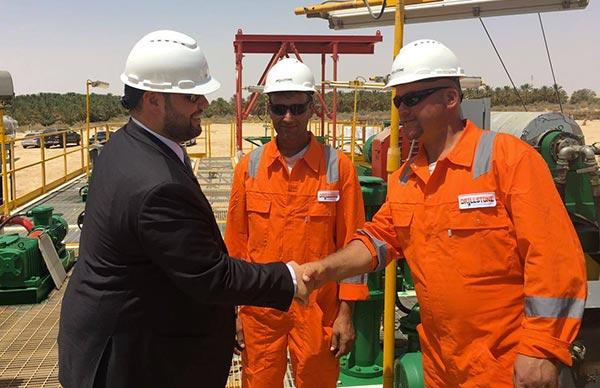 Une compagnie Roumaine inaugure un projet de forage profond en Tunisie