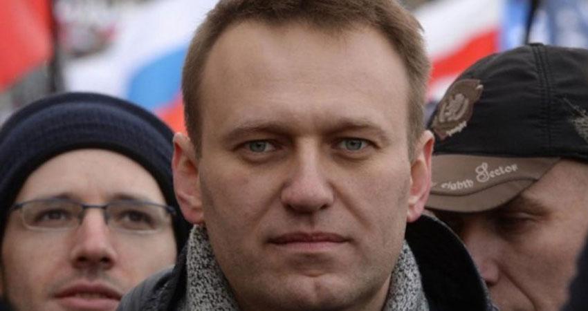 اعتقال المعارض الروسي البارز نافالني أثناء مسيرة في موسكو