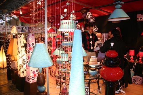 Salon de l'artisanat : Abat-jour artisanal