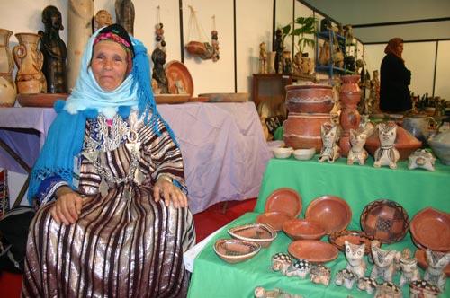 Salon de l'artisanat : Poterie bédouine