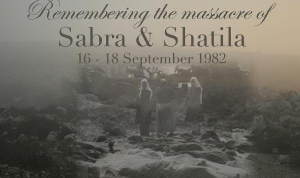 Aujourd'hui, 16 Septembre : 39 ans depuis le massacre de Sabra et Chatila