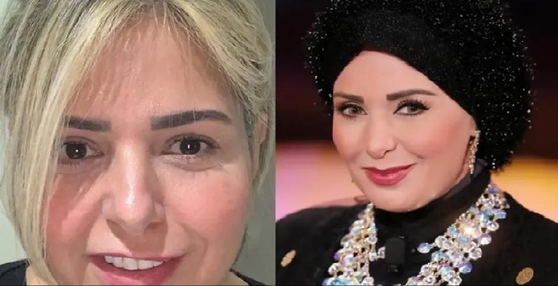 هكذا بدت الفنانة صابرين بعد خلع الحجاب