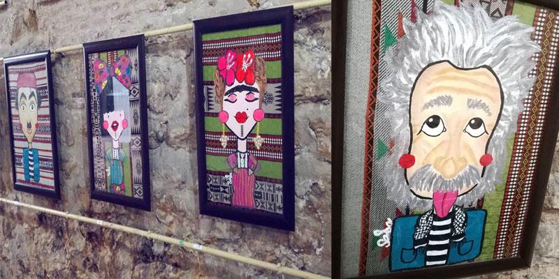 صور...في معرض تونسني: شخصيات عالميّة بأزياء تونسيّة