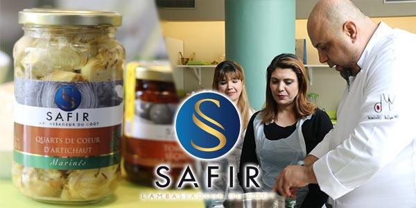 En vidéo : Avant-Goût de l'Atelier de Cuisine Offert aux Gagnantes du Concours Plaisir By Safir