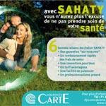 Sahaty, la santé avant tout pour les assurances Carte !