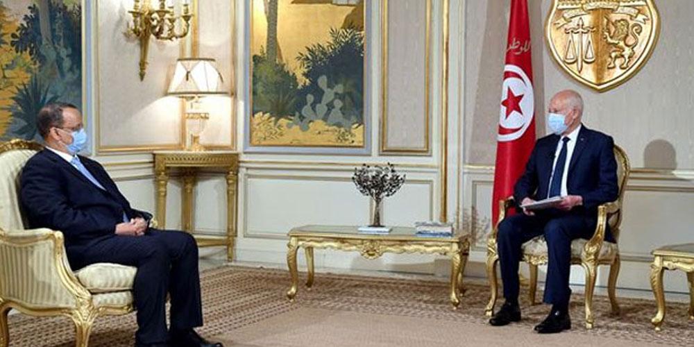 Kais Saied évoque l'histoire commune qu'ont la Tunisie et la Mauritanie