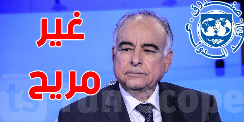 عز الدين سعيدان.. وضعنا مع صندوق النقد الدولي غير مريح بالمرّة