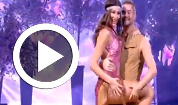 En vidéo : Rym Saidi danse sur ''ai se eu te pego'' dans l'émission 'Dancing with the stars'