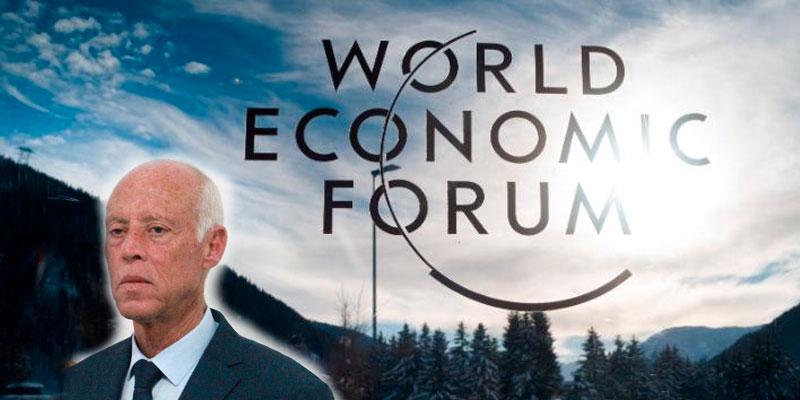 Kais Saied participe au prochain Forum de Davos