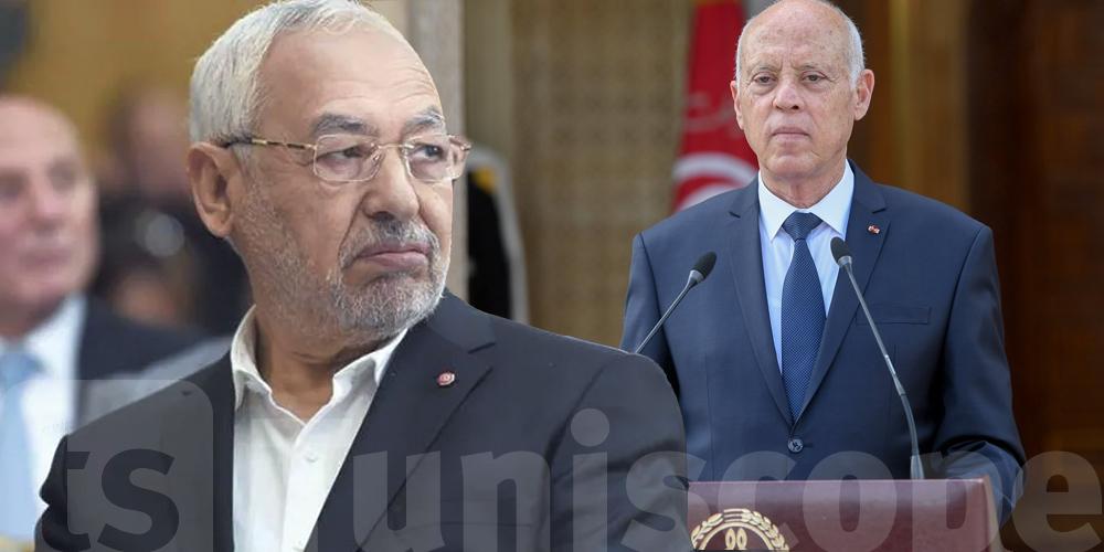 النهضة تدعو إلى إنهاء الحالة الاسثنائية و رفع التجميد عن البرلمان و الكشف عن هوية التونسي الذي أضرم النار في جسده