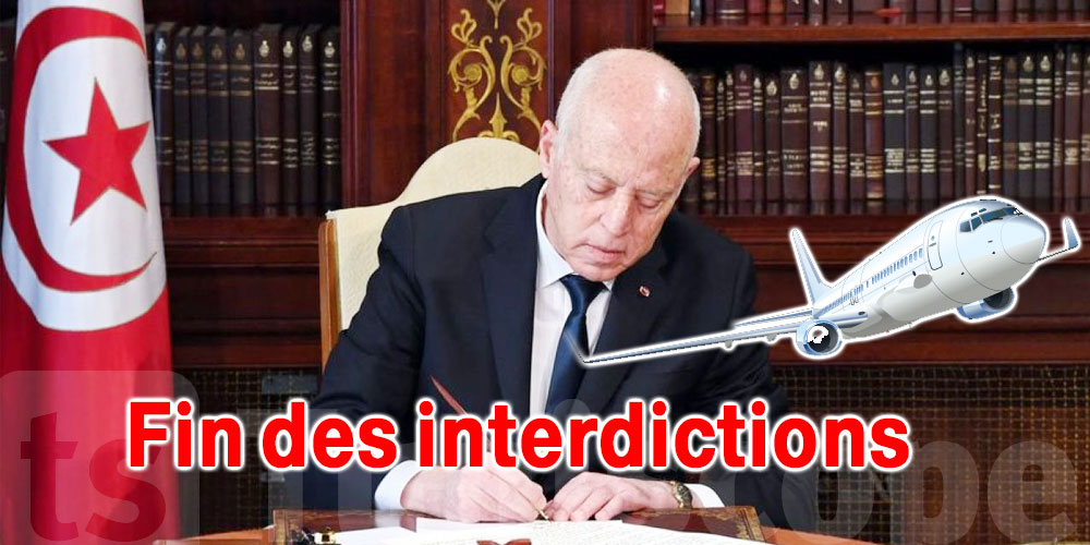 Présidence : Fin des interdictions de voyage sauf pour …