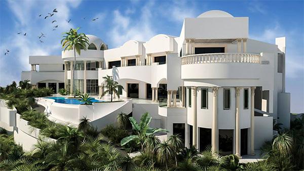 En photos : La résidence de Sakhr El Materi avec 138 pièces à vendre…