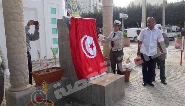 Commémoration à Sidi Bouzid, du 3ème anniversaire de la mort des agents de la garde nationale à Sidi Ali Ben Aoun