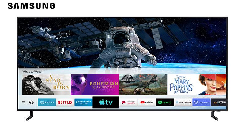 Samsung devient le premier fabricant de téléviseurs à lancer L'application Apple TV et AirPlay 2