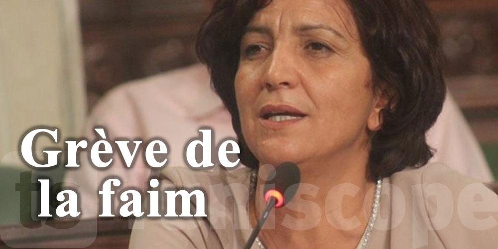 Samia Abbou poursuit sa grève de la faim