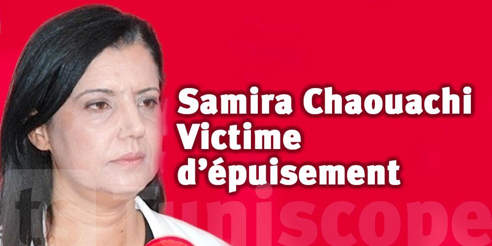 Samira Chaouachi victime d'un problème de santé