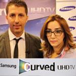 En vidéo : Lancement prochain en Tunisie de la Curved TV de Samsung