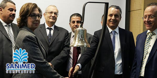 En vidéo : Démarrage des négociations sur le titre SANIMED à la bourse de Tunis
