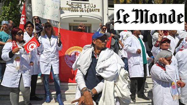 Le journal français Le Monde : ''Les médecins tunisiens tétanisés par la peur de l'erreur médicale''