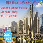 Le CEPEX organise une mission économique à Sao Paulo - Brésil du 04 au 07 mai 2015