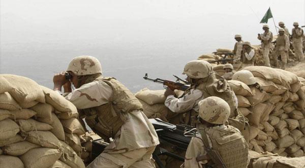 معارك ضارية على الحدود اليمنية السعودية