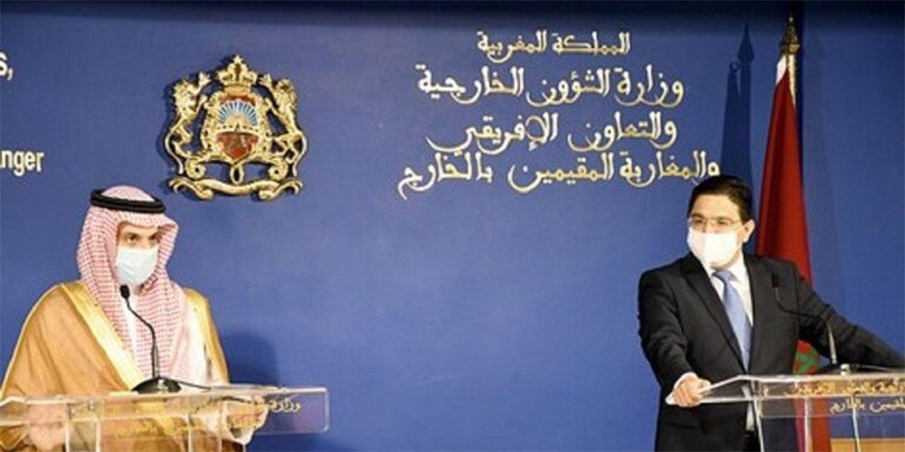 وزير الخارجية السعودي, نرفض التدخلات الأجنبية في ليبيا