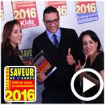 En vidéo : Découvrez les Saveurs de l'Année Awards 2016