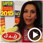 En vidéo : Randa met en valeur ses produits à l'occasion du 2ème atelier découverte des saveurs de l'année 2015