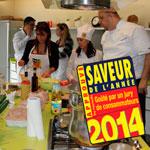 En vidéo : Atelier découverte des Saveurs de l'Année 2014 avec chef Wafik Belaid