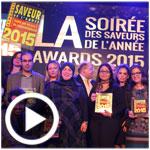 En vidéo : Saveurs de l'année 2015 récompense 14 sociétés tunisiennes pour la qualité de leurs produits