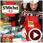 En vidéo : Des recettes exquises avec les biscuits et les gâteaux Saint Michel