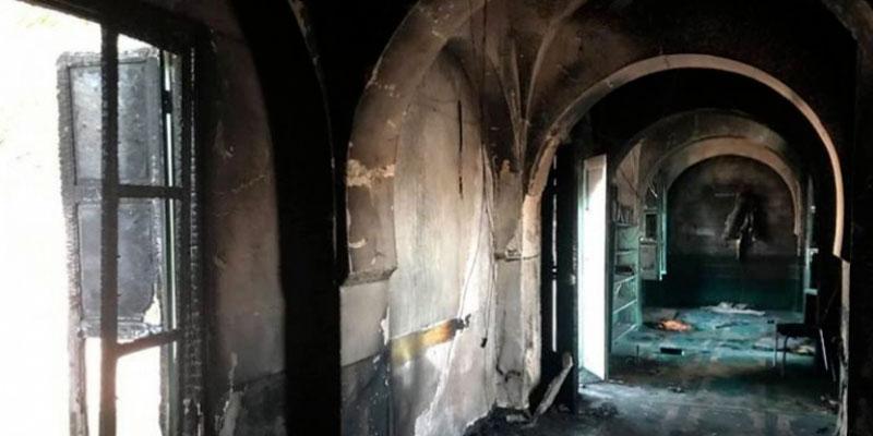 Mosquée saccagée à Sbeitla