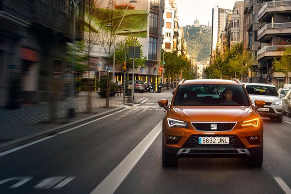 La SEAT Ateca créée à Barcelone, arrivée à Tunis