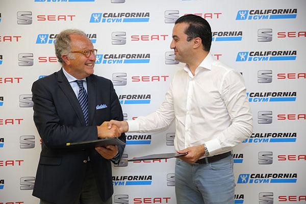 SEAT et California Gym signent un nouveau partenariat