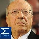 Sigma Conseil : 45% des tunisiens font confiance à Béji Caïd Essebsi