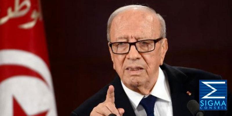 Béji Caïd Essebsi en tête des intentions de vote pour la présidentielle, selon Sigma Conseil