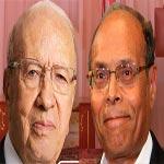 Moncef Marzouki félicite Béji Caïd Essebsi