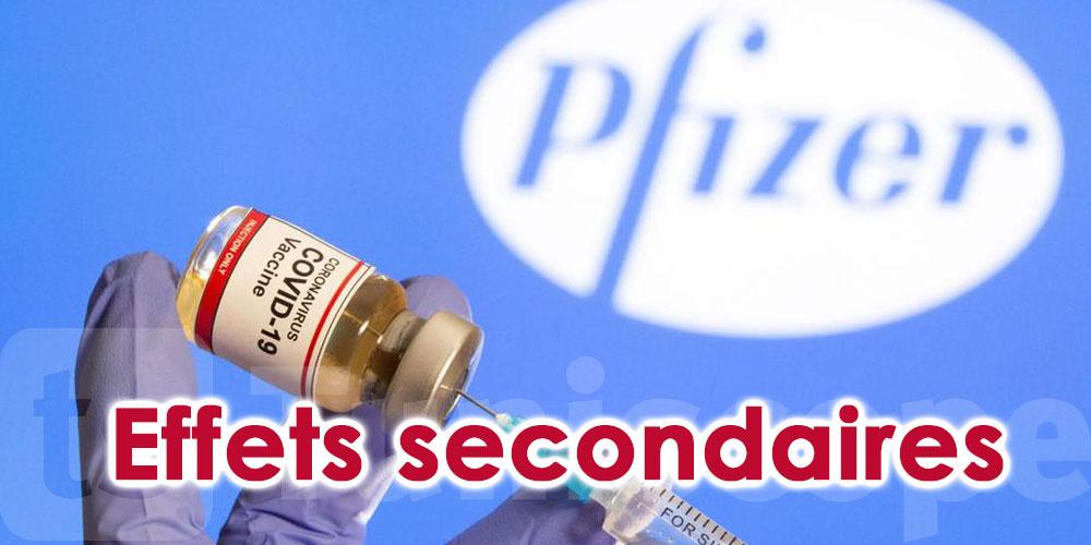Des volontaires évoquent des effets secondaires du vaccin de Pfizer
