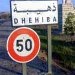 Le ministère de la Défense : La situation à Dhehiba est sous contrôle et il n'y a aucune raison de s'inquiéter