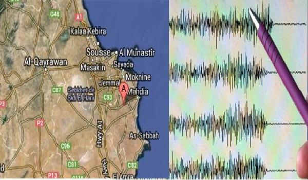 Un léger séisme de 2.2 sur l'Échelle de Richter à Monastir