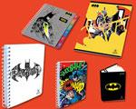 Les cahiers SELECTA habillés en Batman et Superman (les plus célèbres des super héros ) …et Monster High et Barbie !
