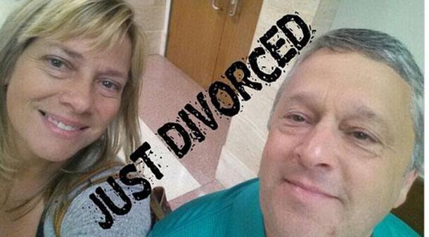 Le #DivorceSelfie, nouvelle mode chez les couples qui se séparent