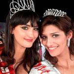 Photo du jour : Le selfie de Wahiba Arres et Hiba Talmoudi les Miss Tunisie